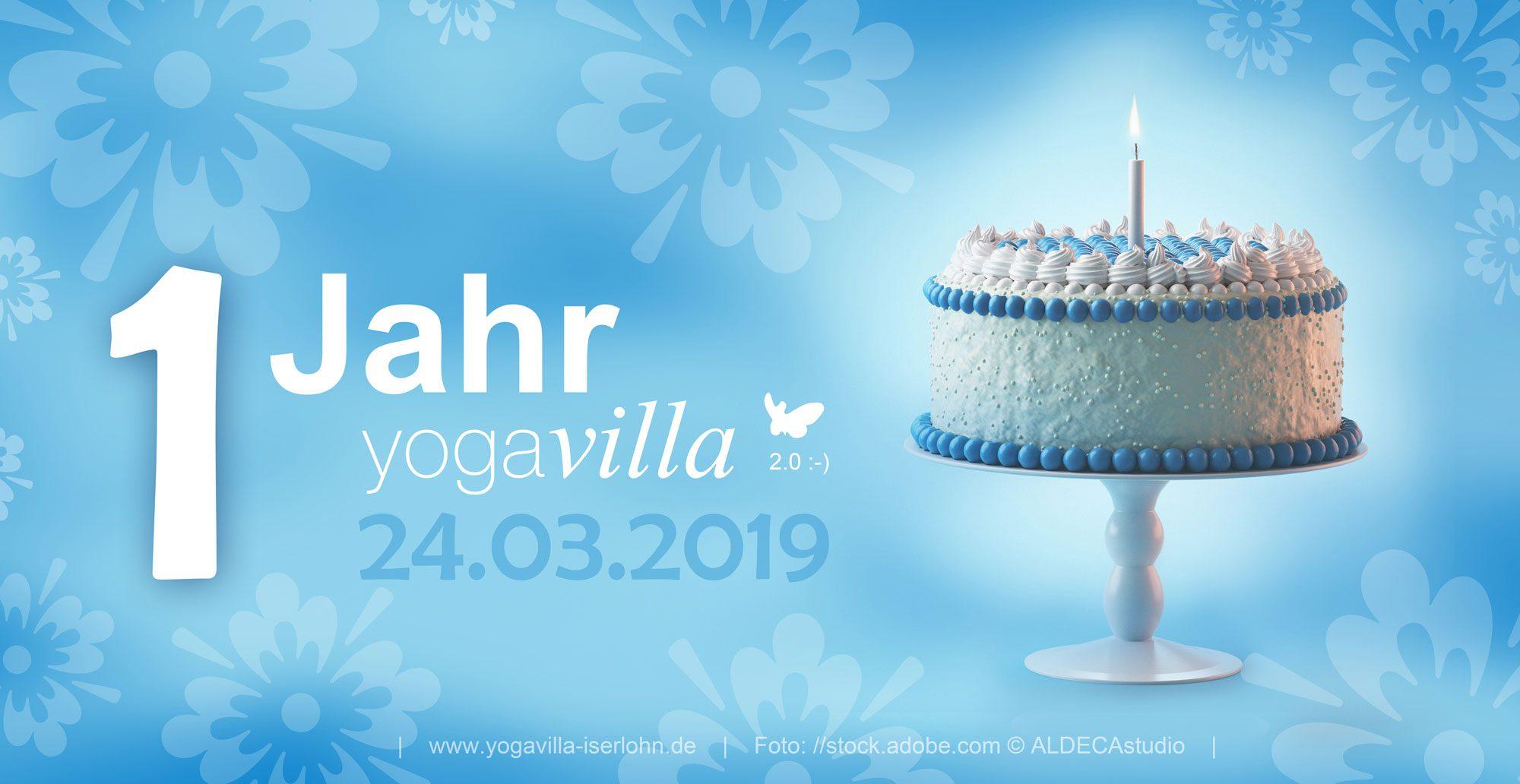 1 Jahr yogavilla 2.0