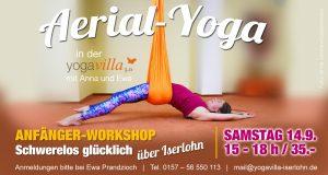 Aerial-Yoga in der yogavilla Iserlohn