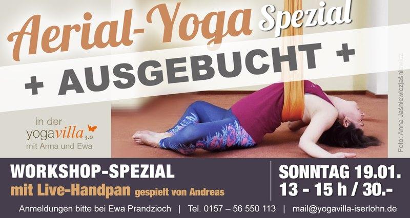 Aerial-Yoga Special mit Handpan
