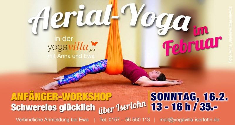 Aerial-Yoga Anfänger Workshop
