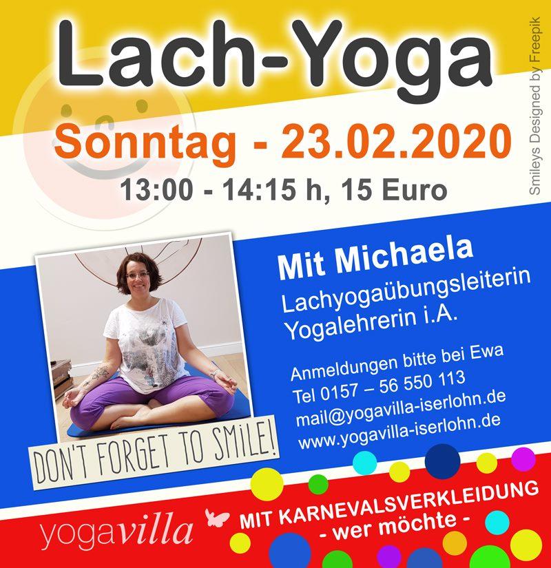 Lach-Yoga mit Michaela