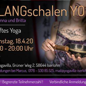 2020-04-18 - KLANGschalen Yoga