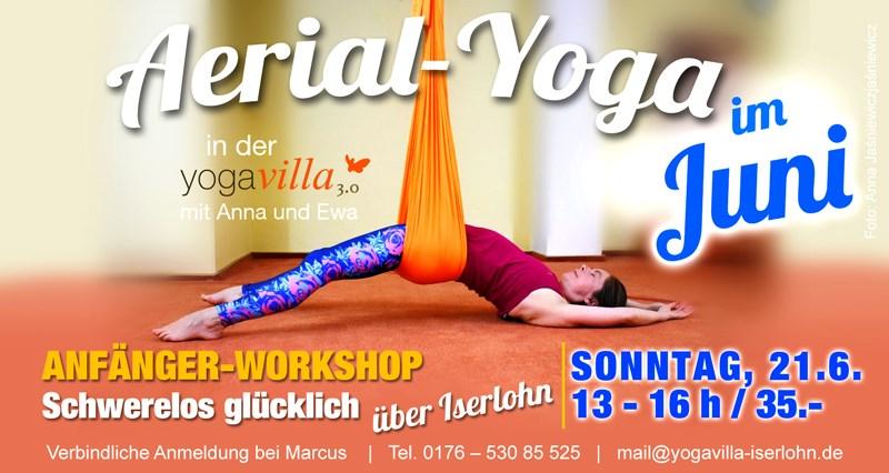 2020-06-21 - Aerial-Yoga Anfänger Workshop