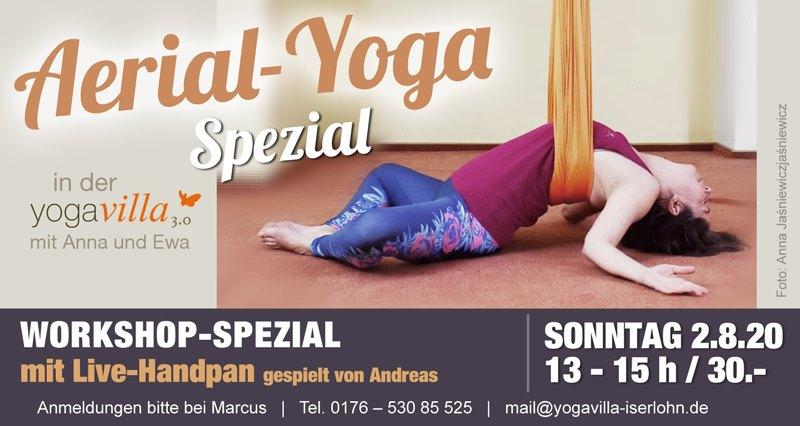 2020-08-02 - Aerial-Yoga Special mit Handpan