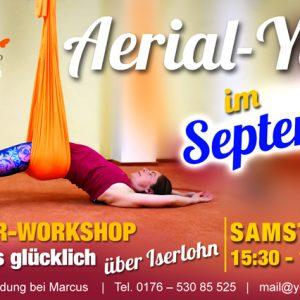 12.09.2020 – Aerial-Yoga, Anfänger-Workshop