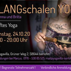 24.10.2020 - Klangschalen Yoga