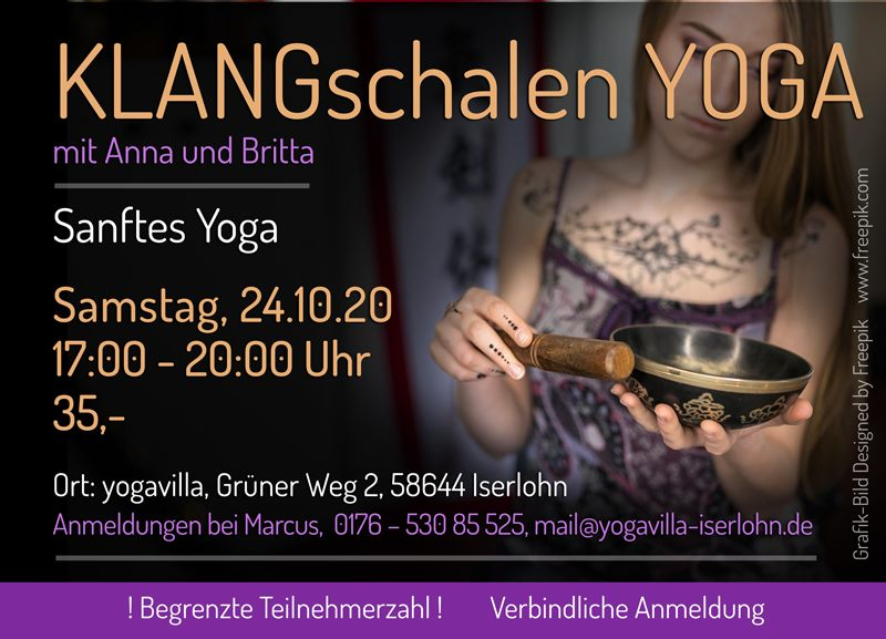 24.10.2020 - Klangschalen Yoga