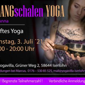 Klangschalen Yoga