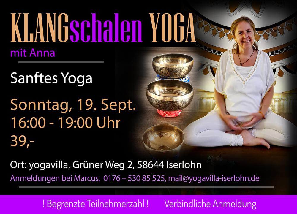 Klangschalen-Yoga