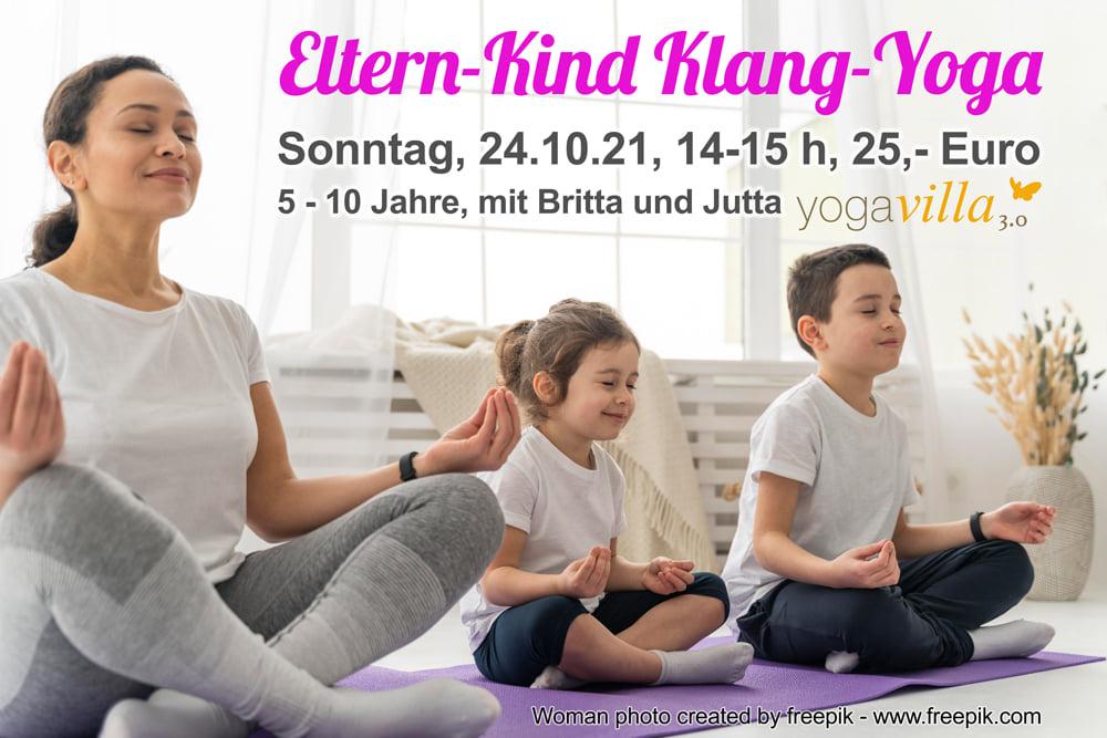Eltern-Kind Klang-Yoga